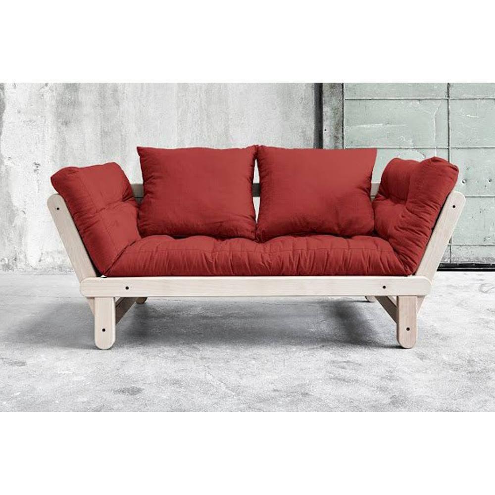 canap s futon canap s et convertibles banquette m ridienne convertible rouge passion beat. Black Bedroom Furniture Sets. Home Design Ideas