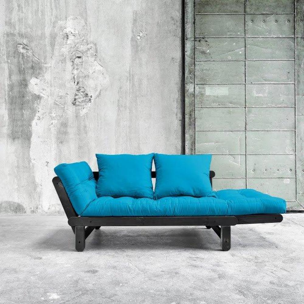 canap s futon canap s et convertibles banquette m ridienne noire convertible matelas futon. Black Bedroom Furniture Sets. Home Design Ideas