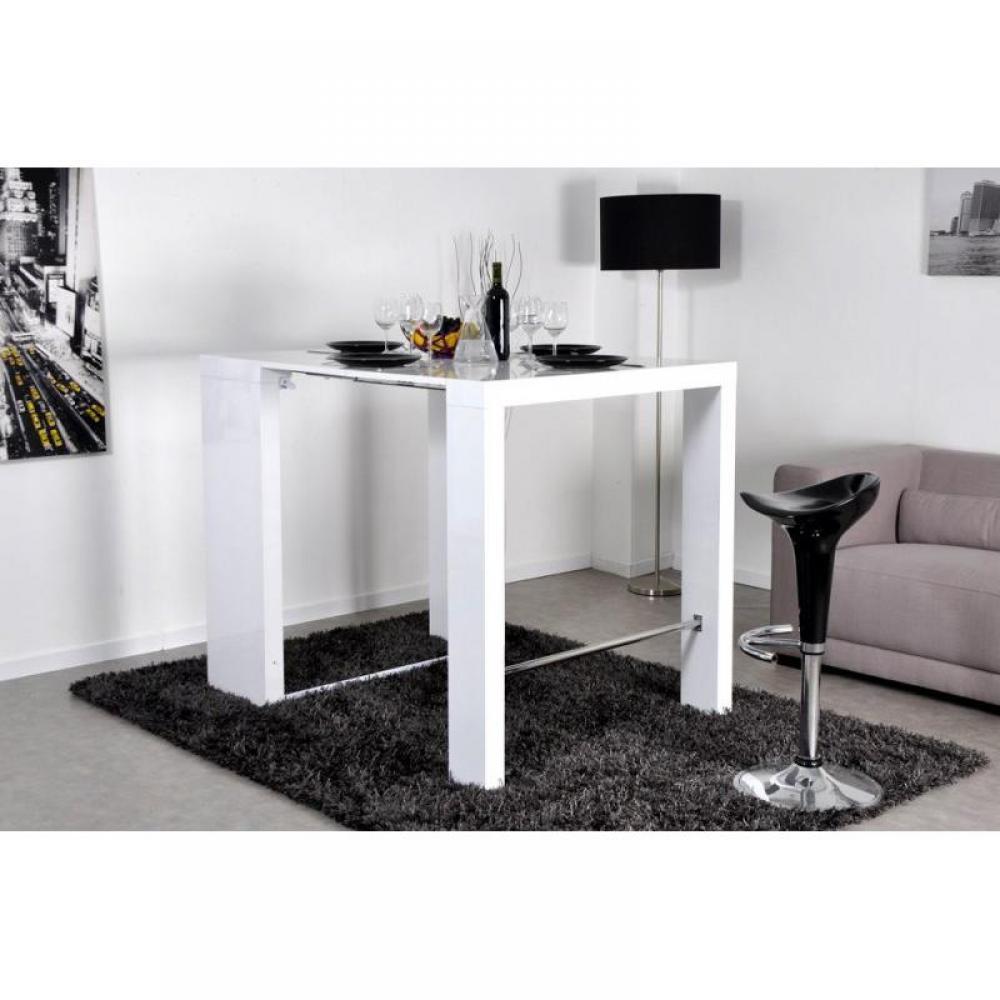 bars tables et chaises extend bar blanc bar console. Black Bedroom Furniture Sets. Home Design Ideas
