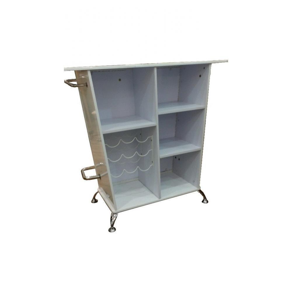 Bars meubles et rangements bar design barock blanc inside75 - Meuble rangement bar ...