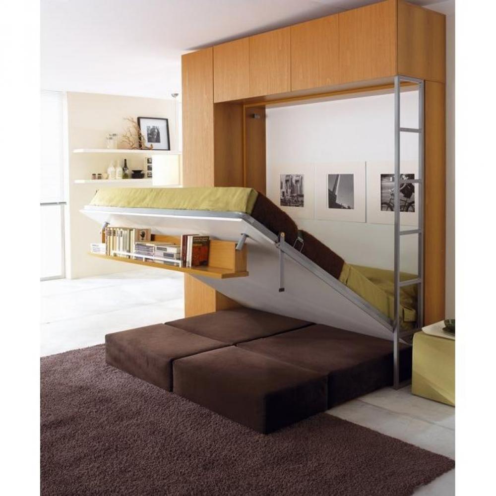 Armoire lit canap armoires lits escamotables armoire for Lit canape escamotable ikea