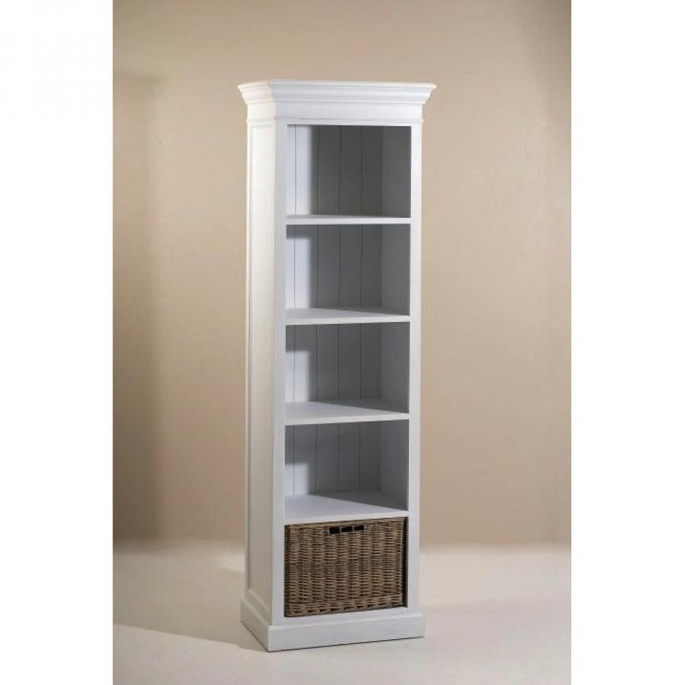 Biblioth ques tag res meubles et rangements biblioth que indon sienne eva - Bibliotheque 4 cases ...