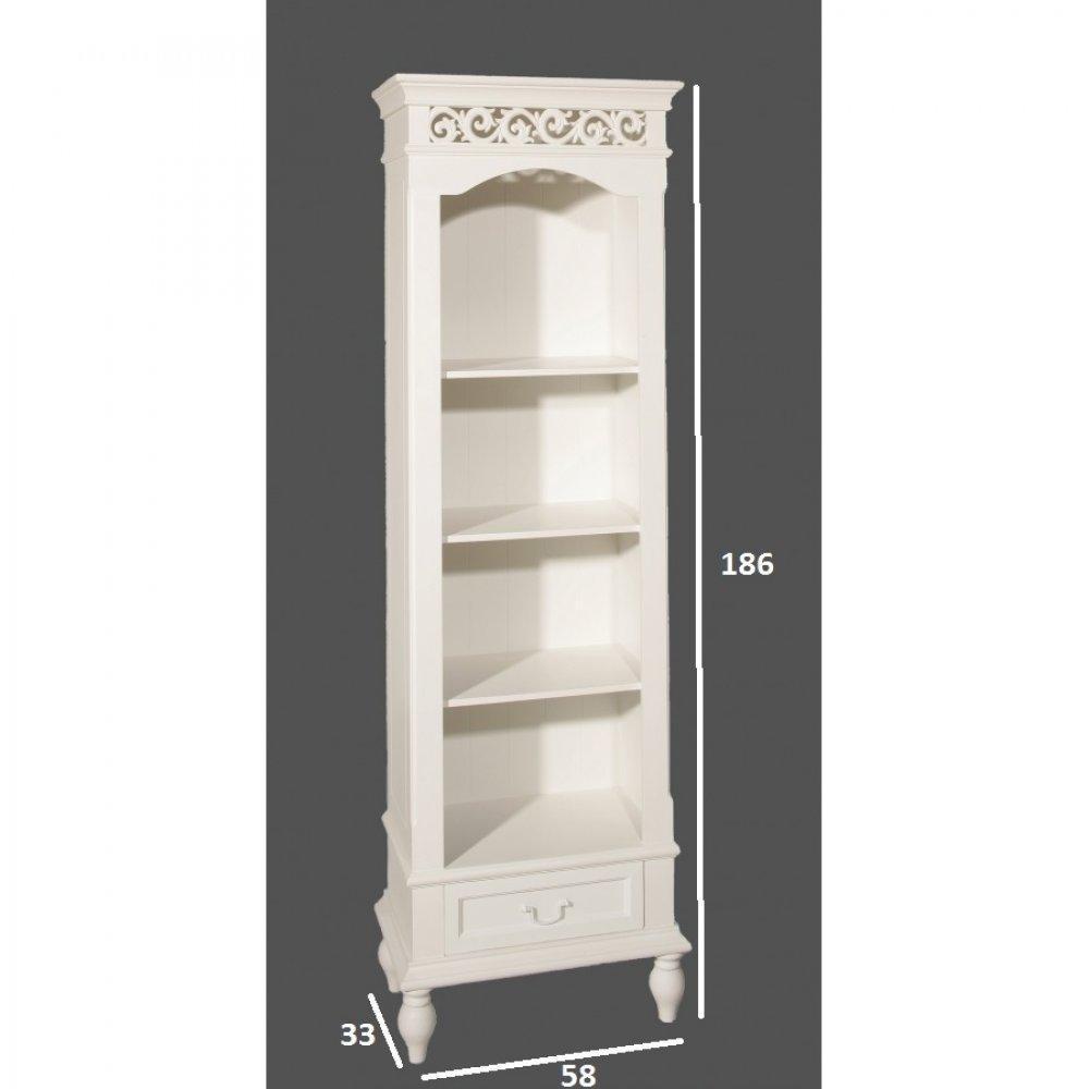 Biblioth ques tag res meubles et rangements biblioth que blanche 4 cases 1 - Bibliotheque blanche design ...