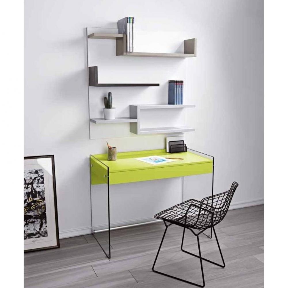 Biblioth ques tag res meubles et rangements biblioth que murale design mys - Bibliotheque murale blanc ...