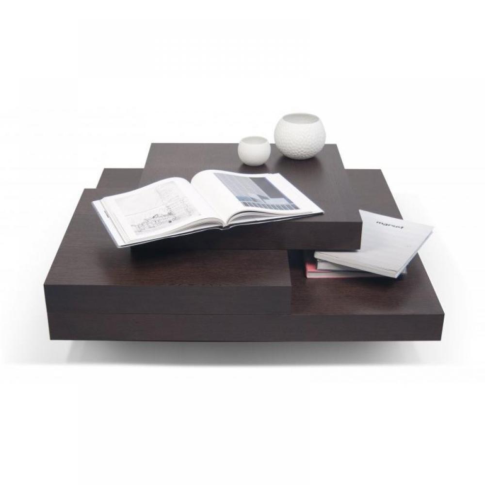 Tables basses meubles et rangements temahome slate table - Table basse salon design tendance ...