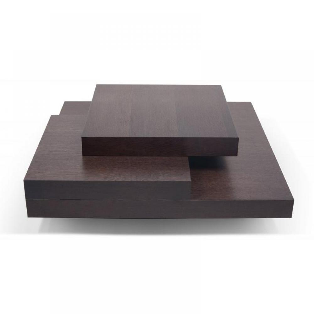 Tables basses meubles et rangements temahome slate table basse teint e choc - Table basse salon design tendance ...