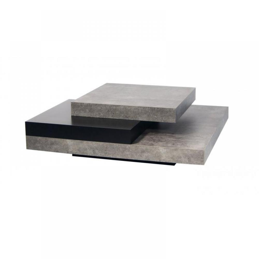 Tables basses meubles et rangements temahome slate table - Tables de salon design ...