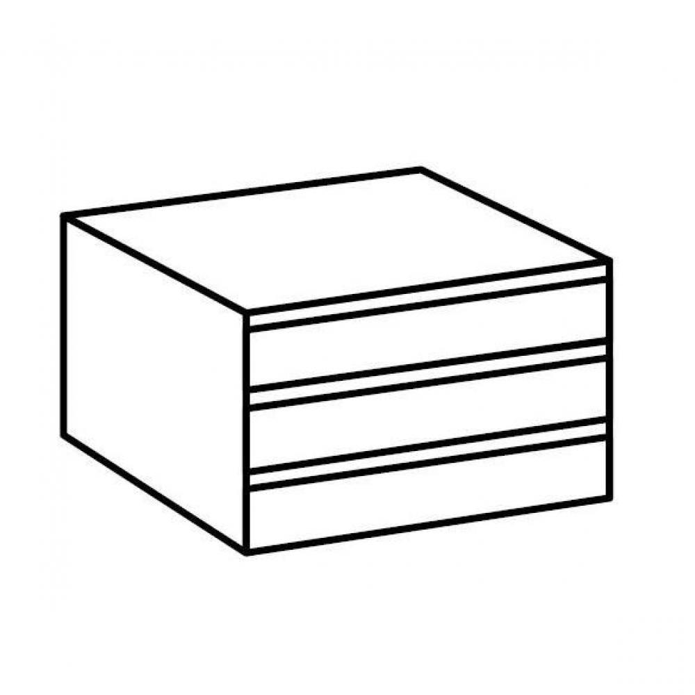 Dressings et armoires chambre literie bloc 3 tiroirs de rangements in - Tiroirs pour dressing ...