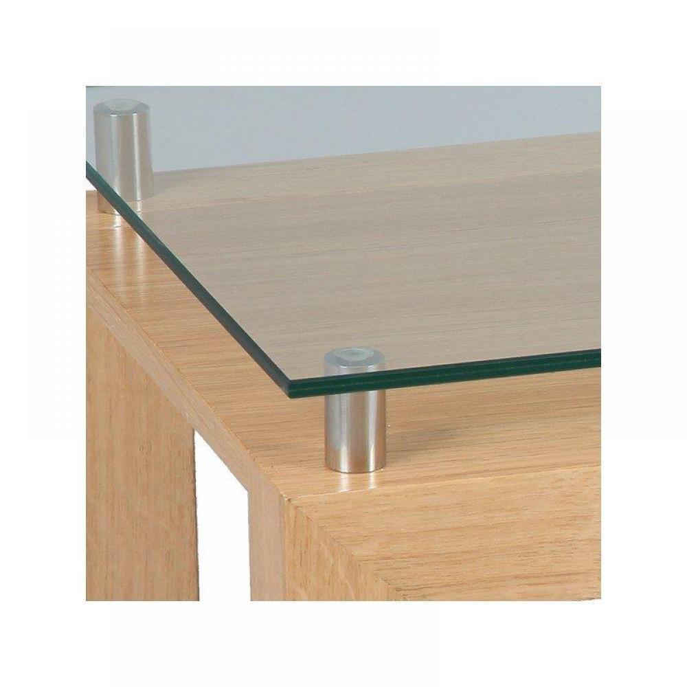 bouts de canapes meubles et rangements bout de canap eoline avec plateau en verre inside75. Black Bedroom Furniture Sets. Home Design Ideas