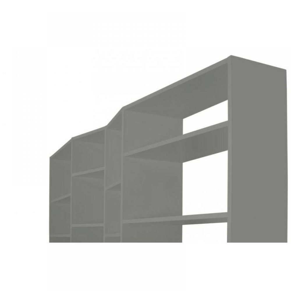 Temahome Valsa 28 Casiers Biblioth Que Tag Re Design Laqu E Gris Mat Ebay