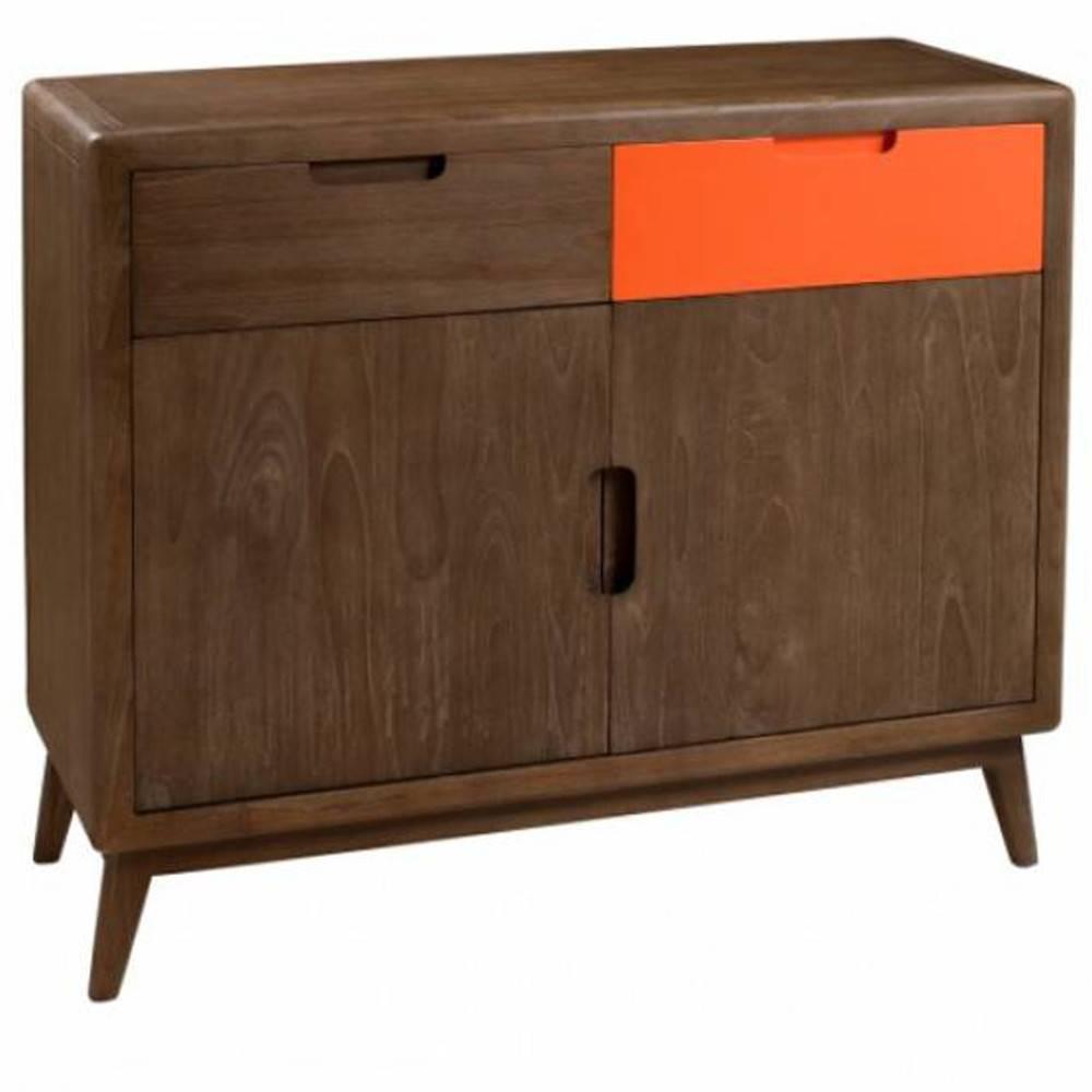 Buffets meubles et rangements buffet 2 portes 2 tiroirs lucas style colonia - Buffet style colonial ...