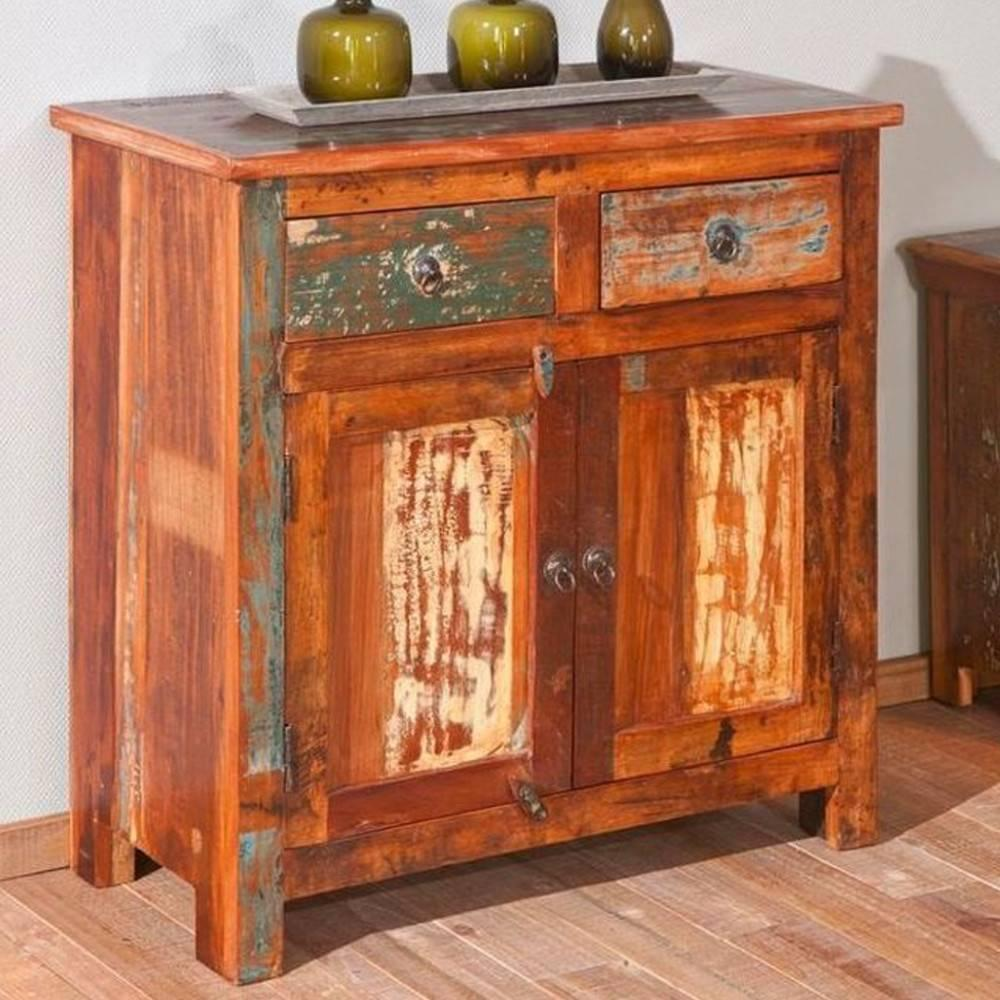 buffets meubles et rangements buffet bas design farol en bois de manguier recycl e inside75. Black Bedroom Furniture Sets. Home Design Ideas