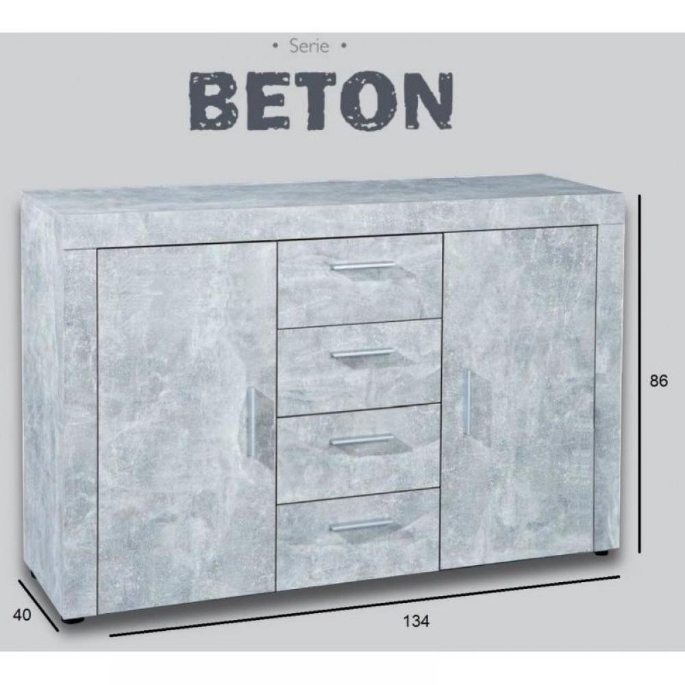 Buffets bas meubles et rangements buffet 2 portes et 4 for Buffet bas 4 portes