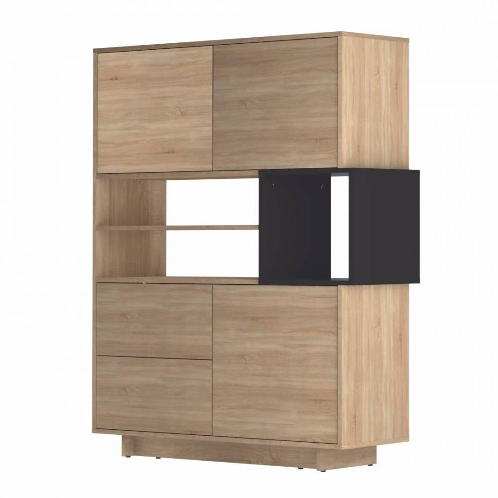 canap s convertibles canap s et convertibles buffet design scandinave dainn 3 portes 2 tiroirs. Black Bedroom Furniture Sets. Home Design Ideas