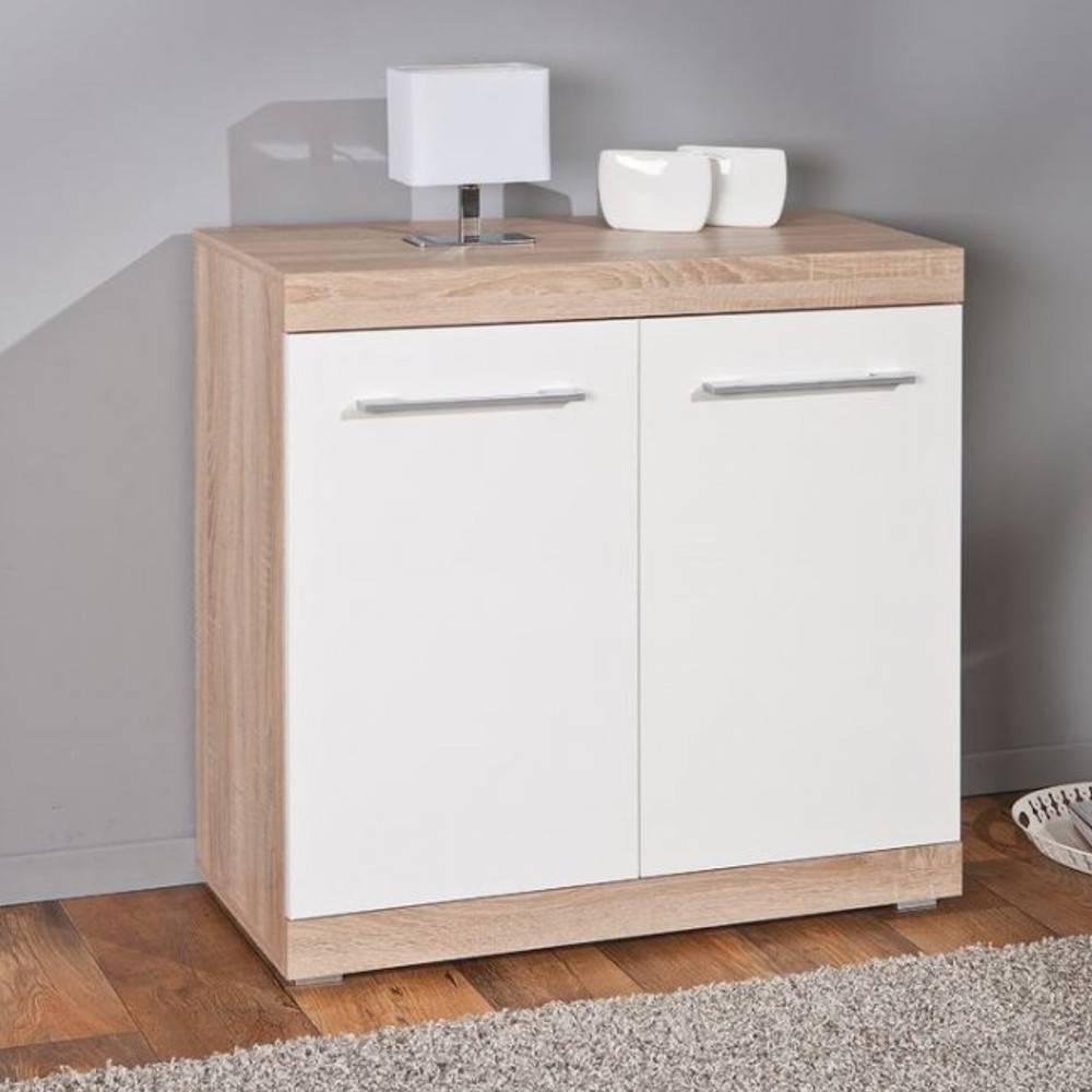 Chambre b b meubles et rangements buffet lublin ch ne for Chambre bebe meuble blanc