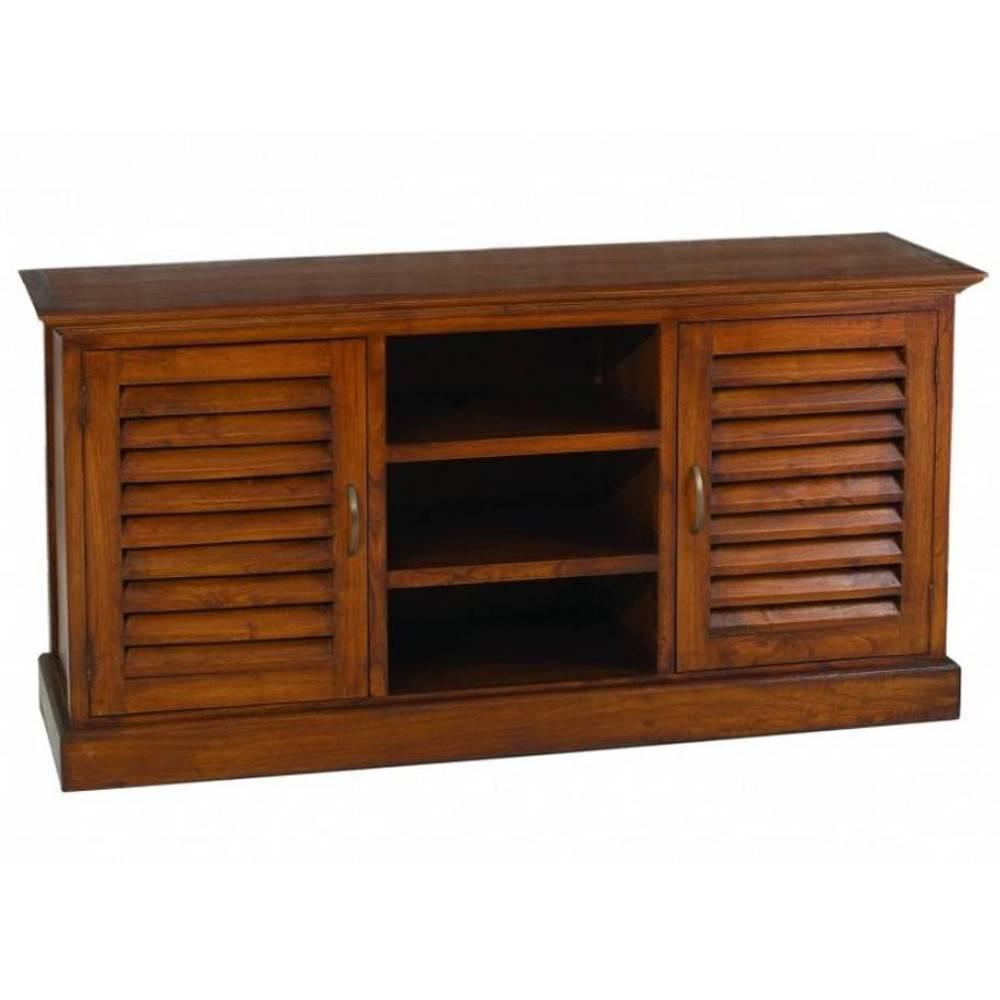 Buffets meubles et rangements buffet portes persiennes lauren en mindi styl - Buffet style colonial ...