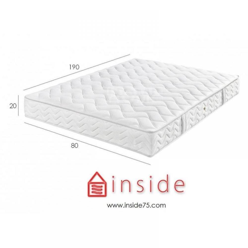 matelas mousse et bultex chambre literie matelas mousse bulca couchage 80 190cm paisseur. Black Bedroom Furniture Sets. Home Design Ideas