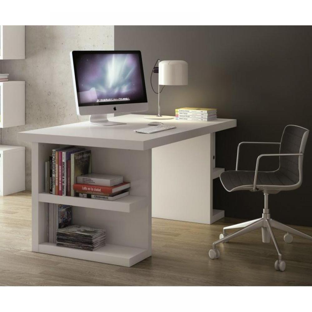 bureaux meubles et rangements bureau design temahome multi storage 180 x 90 blanc inside75. Black Bedroom Furniture Sets. Home Design Ideas