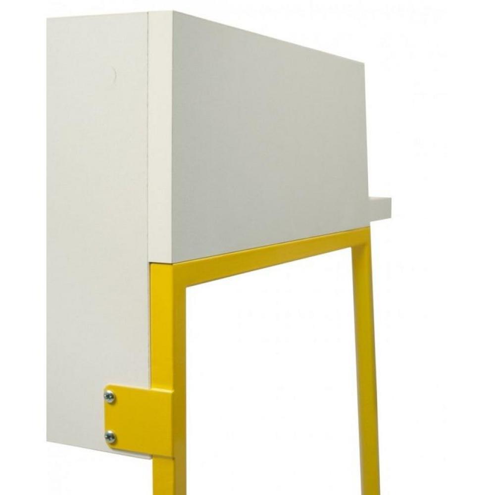 Meubles de bureau meubles et rangements bureau design for Meuble bureau jaune