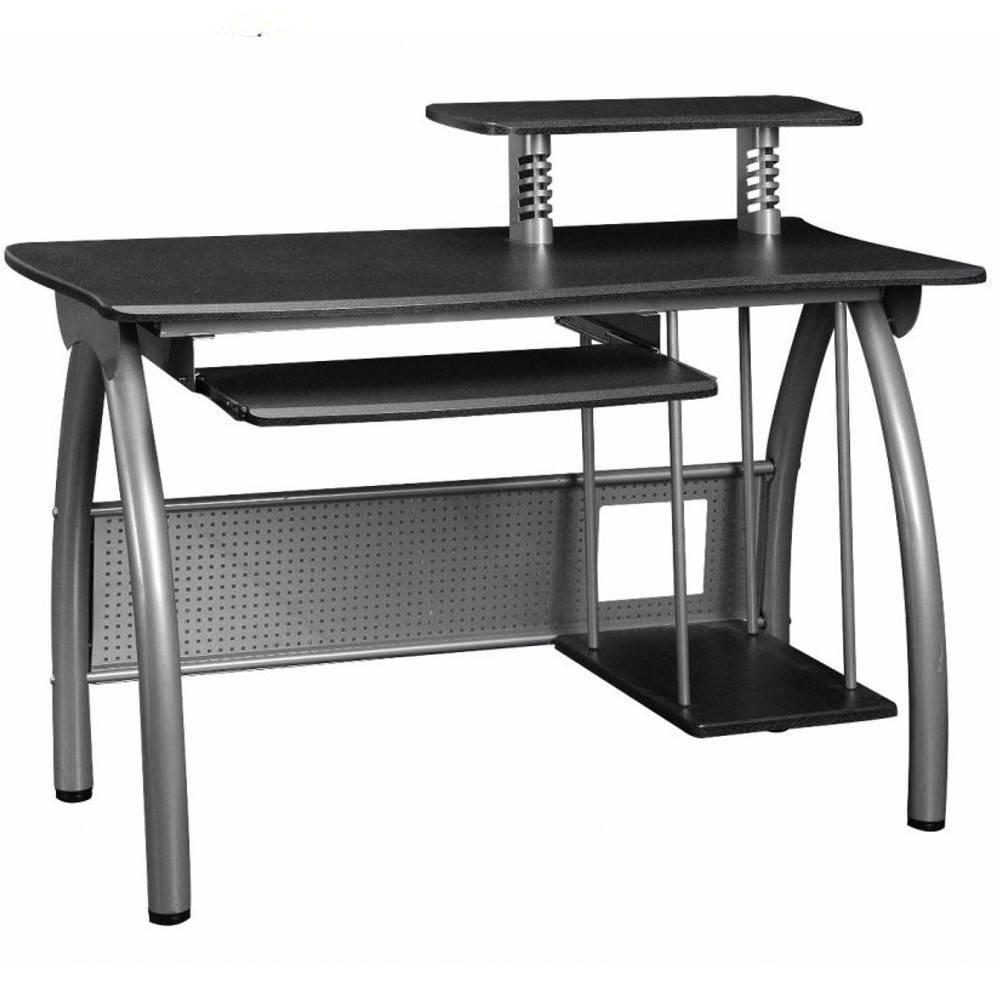 Bureaux meubles et rangements bureau informatique gray for Bureau informatique petit espace