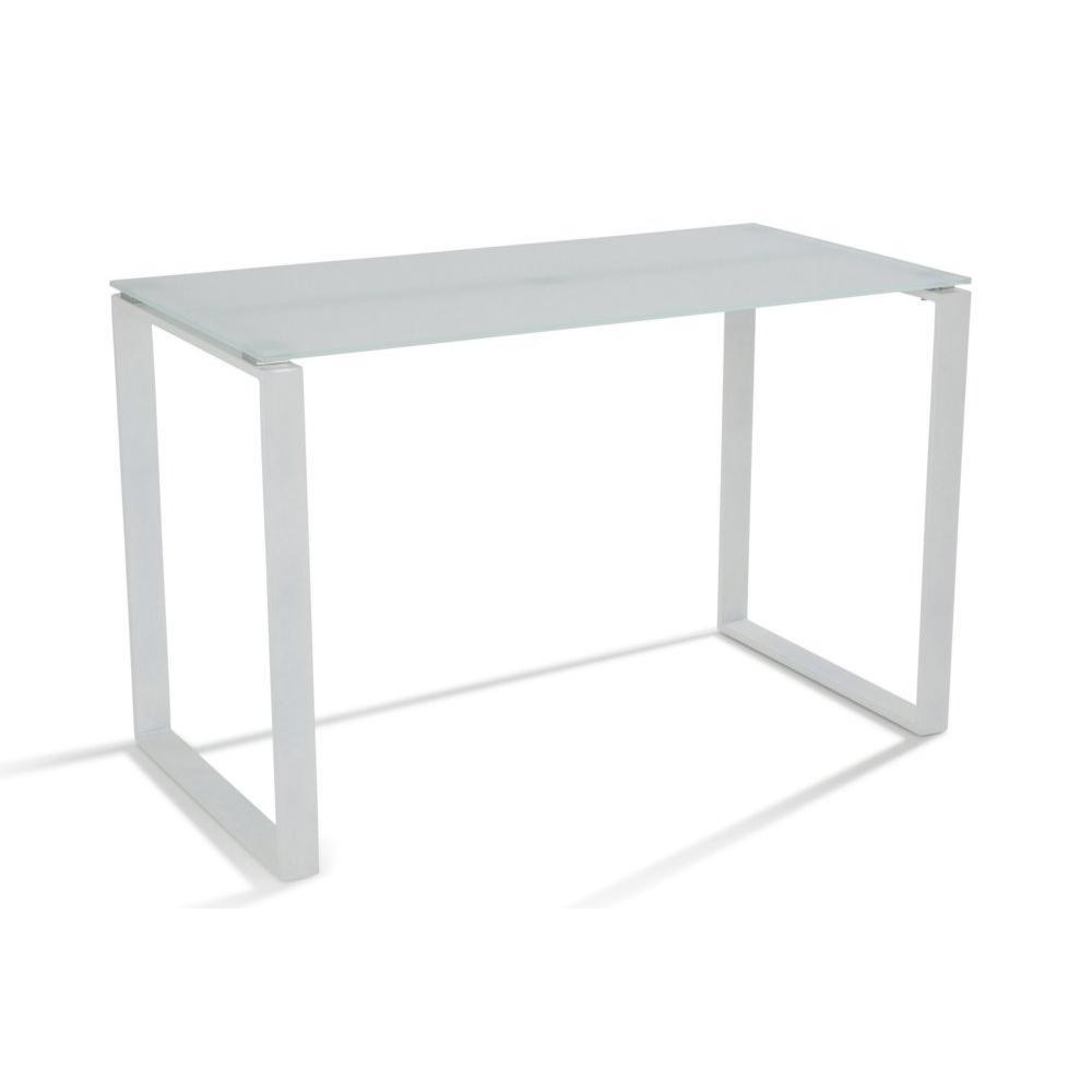 Meubles de bureau meubles et rangements bureau nasdrovia for Meuble bureau verre acier