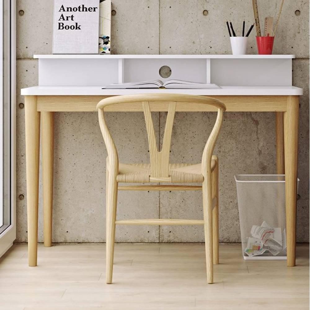Bureau bois blanc for Plateau bureau bois blanc