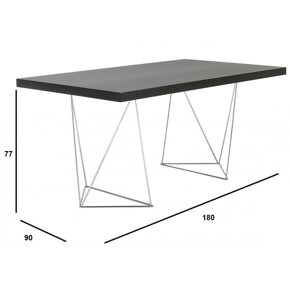 Chaises meubles et rangements bureau design temahome for Meuble bureau 180 cm