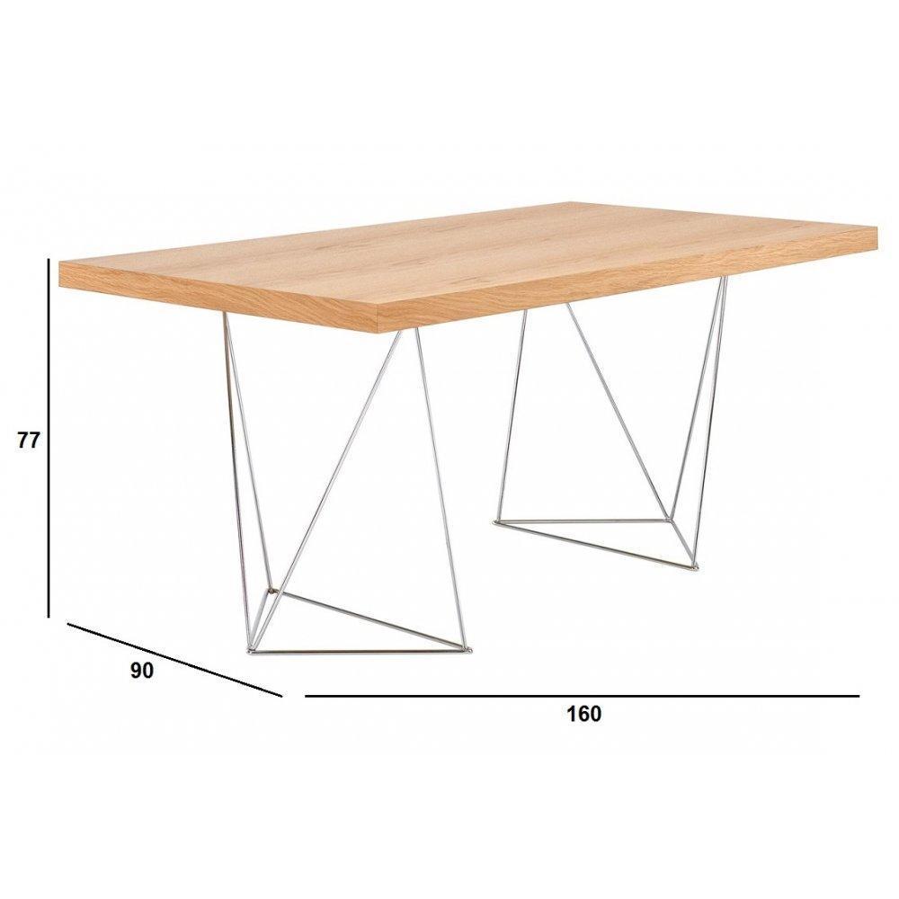 bureaux meubles et rangements bureau design temahome trestles 160 x 90 cm inside75. Black Bedroom Furniture Sets. Home Design Ideas