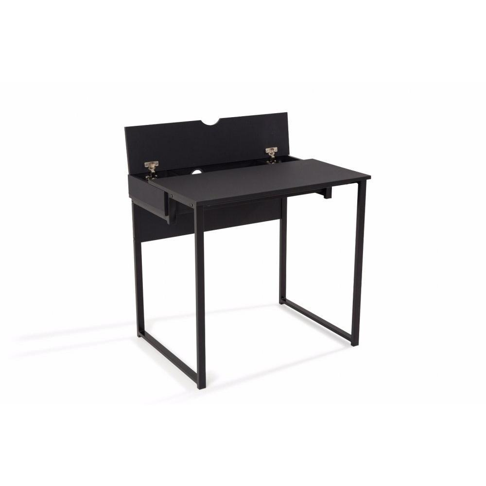 bureaux meubles et rangements bureau worky1 design noir. Black Bedroom Furniture Sets. Home Design Ideas