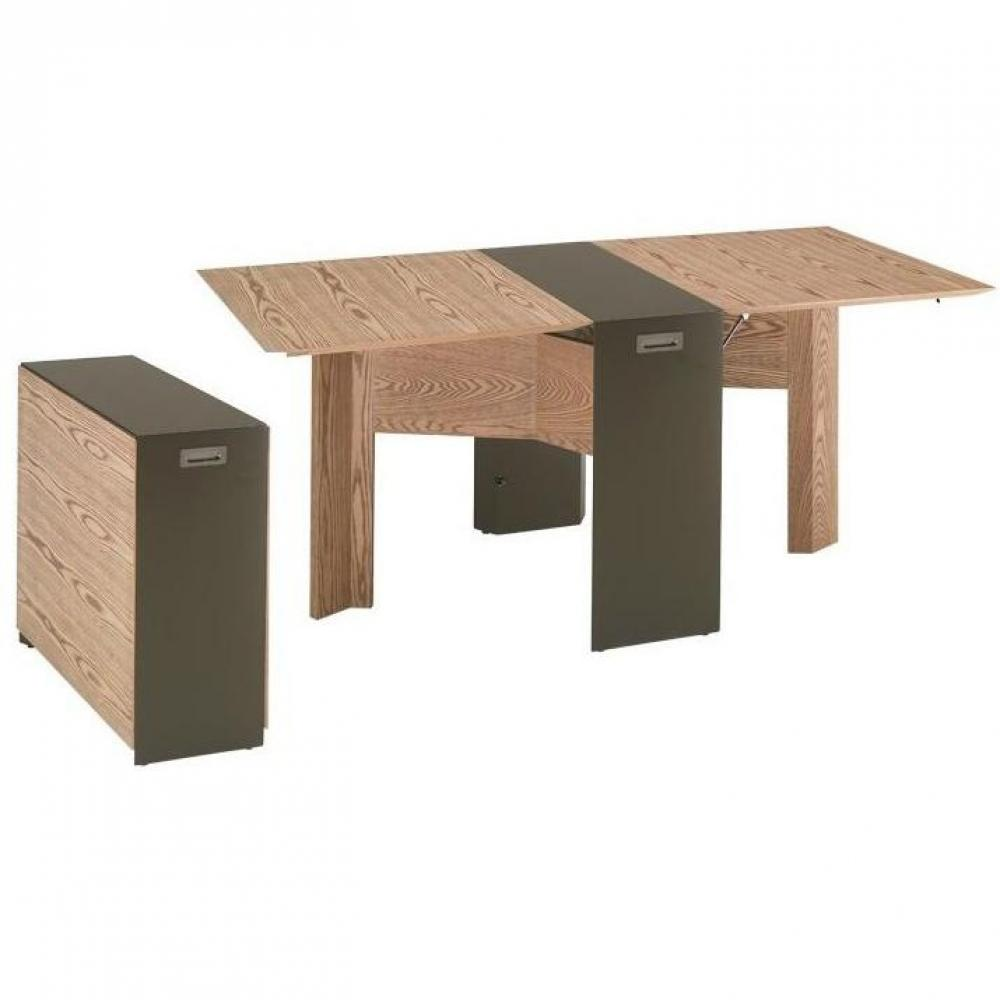 table console extensible bois wenge. Black Bedroom Furniture Sets. Home Design Ideas