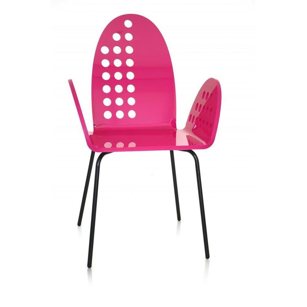 chaises meubles et rangements cali chaise ronde rose plexiglass design acrila. Black Bedroom Furniture Sets. Home Design Ideas
