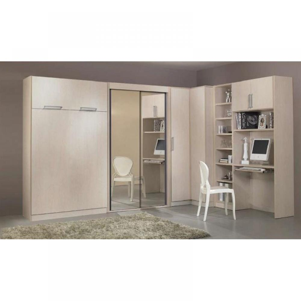 Lit armoire escamotable but awesome lit et armoire - Armoire lit escamotable ikea ...
