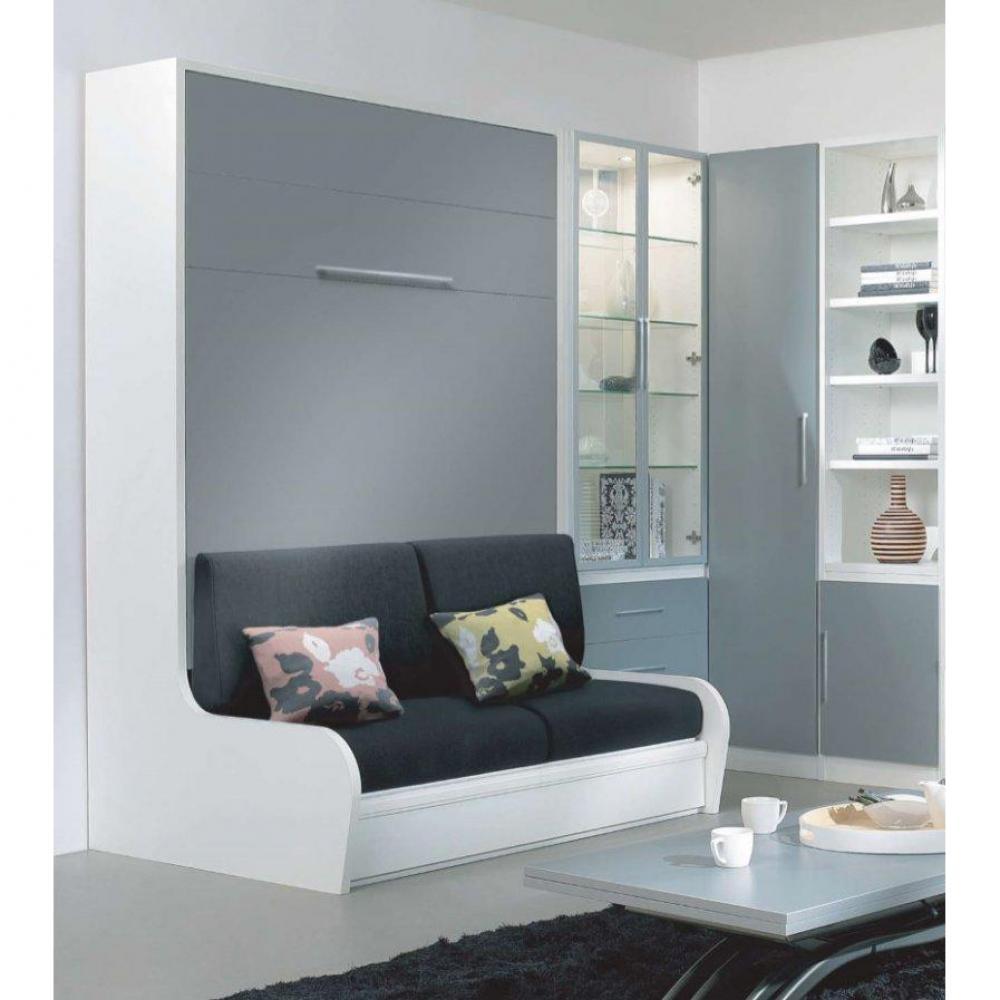 Lits escamotables armoires lits escamotables armoire lit escamotable 160cm campus de jacquelin for Armoire lit canape
