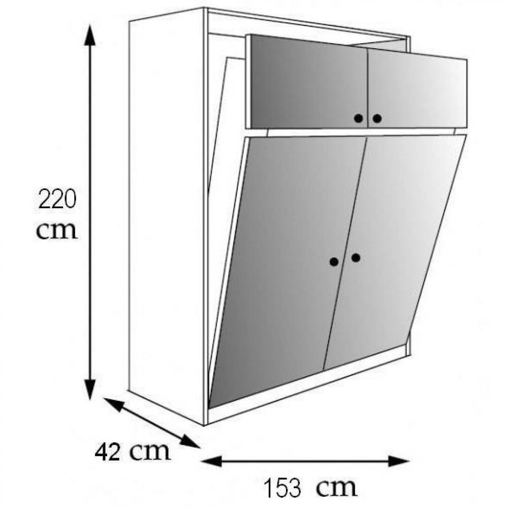 Fabriquer un lit escamotable - En tapes