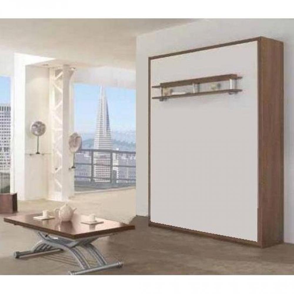 Lits escamotables armoires lits escamotables armoire lit 160 200cm escamota - Pied de lit escamotable ...