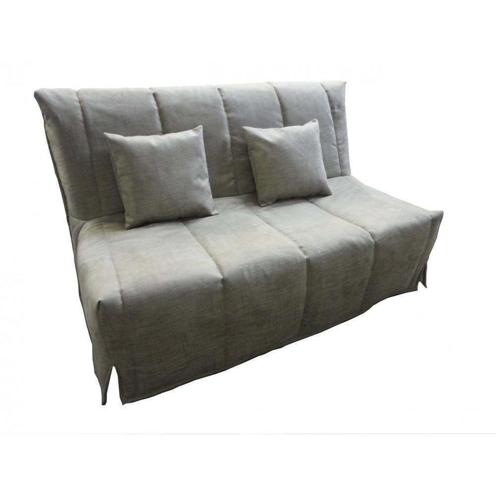 canap s lits bz canap s et convertibles canap bz convertible flo gris lin 140 200cm matelas. Black Bedroom Furniture Sets. Home Design Ideas