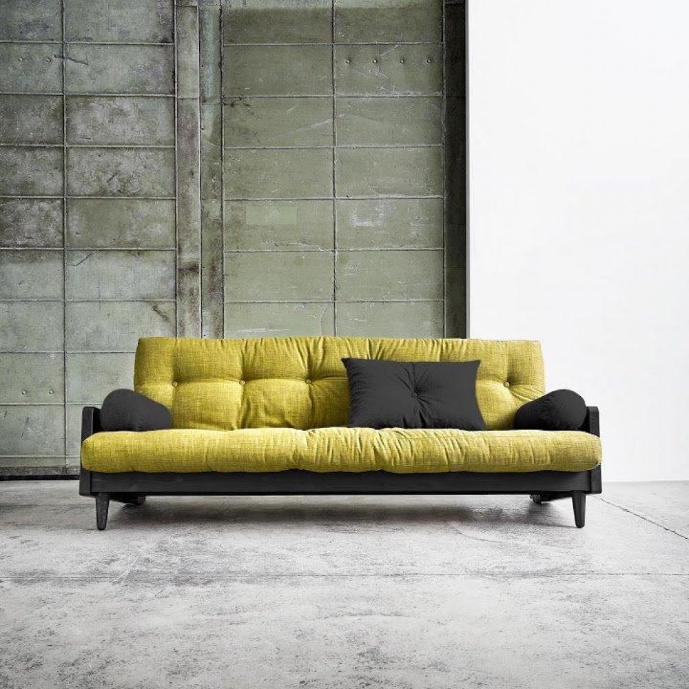 canap s futon canap s et convertibles canap noir 3 4 places convertible indie futon vert. Black Bedroom Furniture Sets. Home Design Ideas
