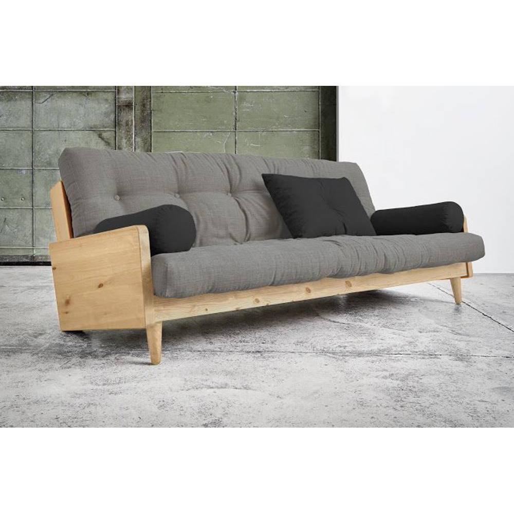 canap s futon canap s et convertibles canap 3 4 places convertible indie style scandinave. Black Bedroom Furniture Sets. Home Design Ideas