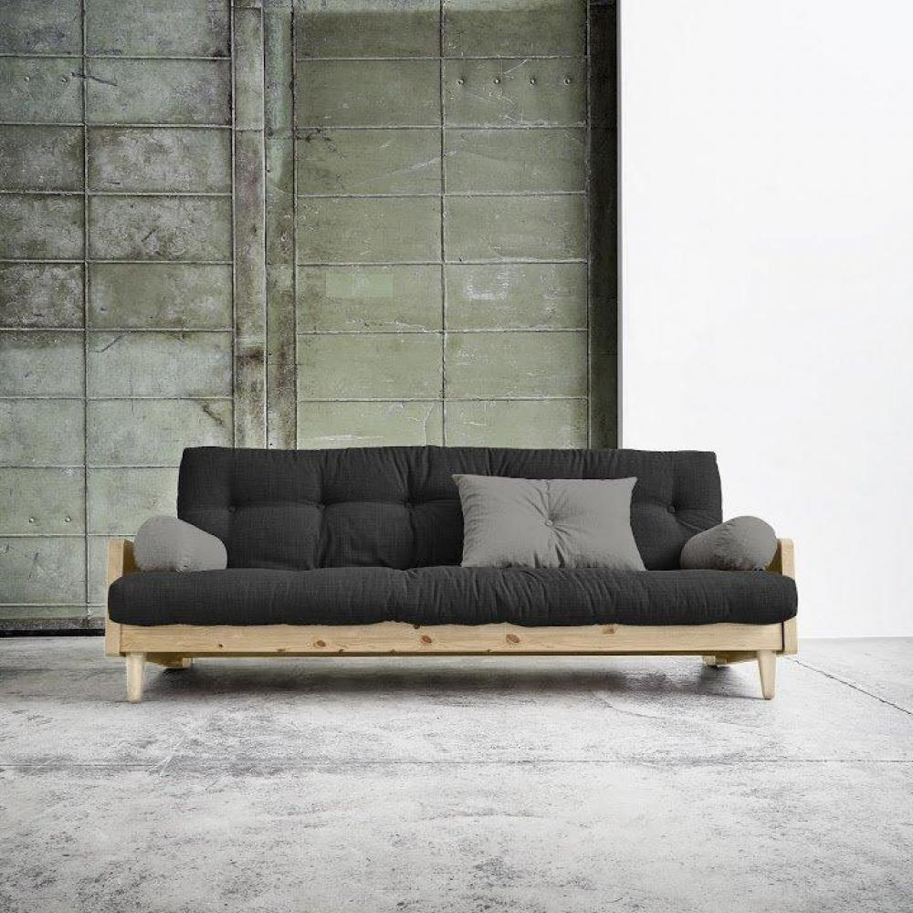Canapu00e9s Futon Canapu00e9s Et Convertibles Canapu00e9 3/4 Places Convertible INDIE Style Scandinave ...