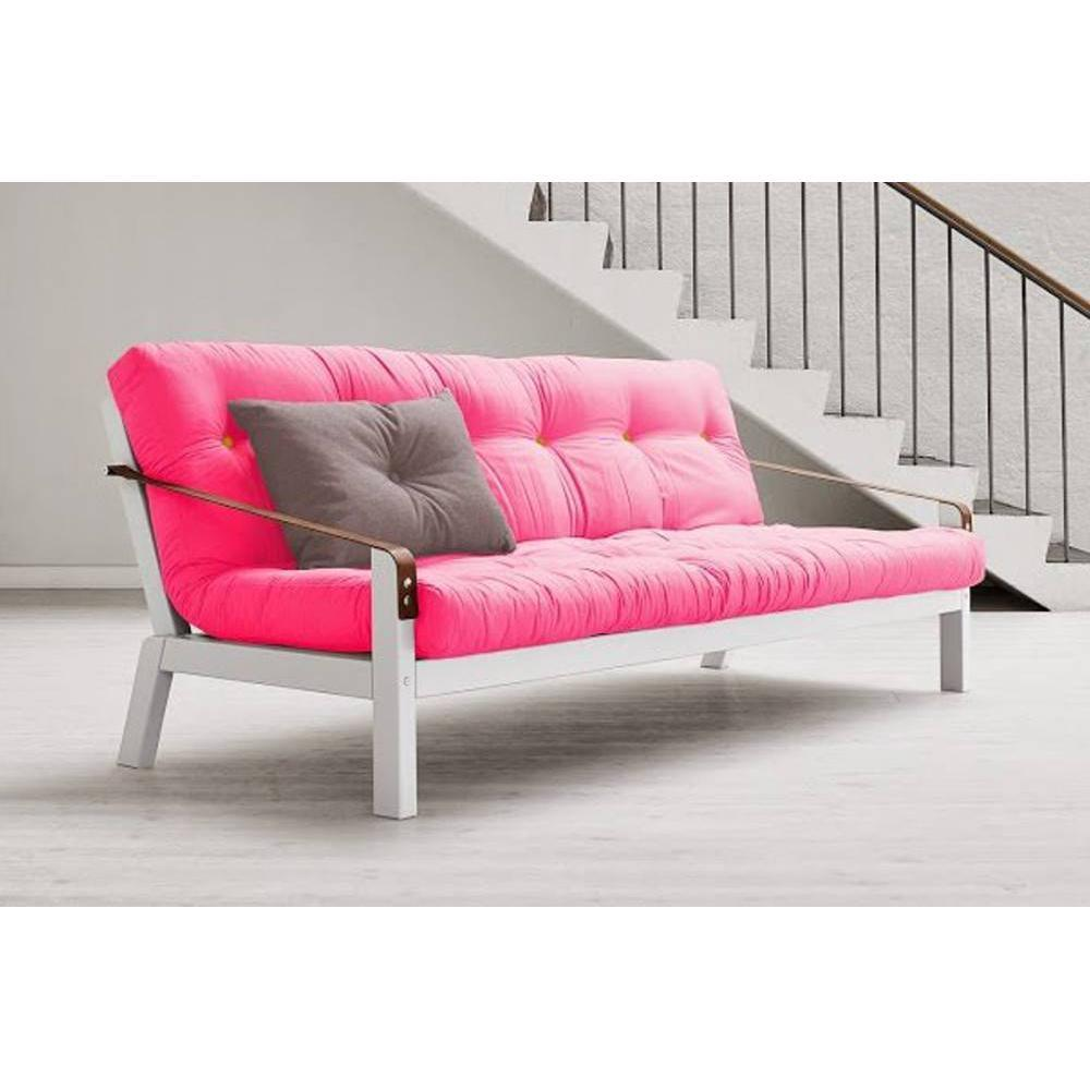 canap s futon canap s et convertibles canap blanc 3 4 places convertible poetry futon magenta. Black Bedroom Furniture Sets. Home Design Ideas