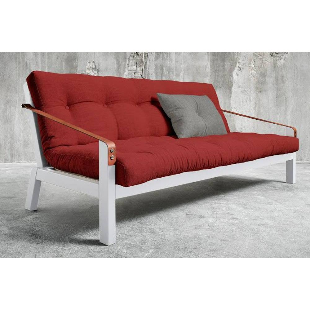 canap s futon canap s et convertibles canap blanc 3 4 places convertible poetry futon rouge. Black Bedroom Furniture Sets. Home Design Ideas