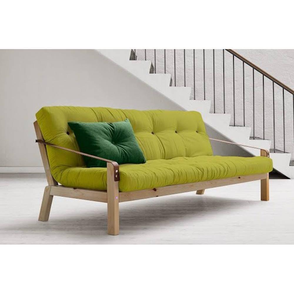 Canap s futon canap s et convertibles canap 3 4 places convertible poetry style scandinave - Canape futon convertible ...