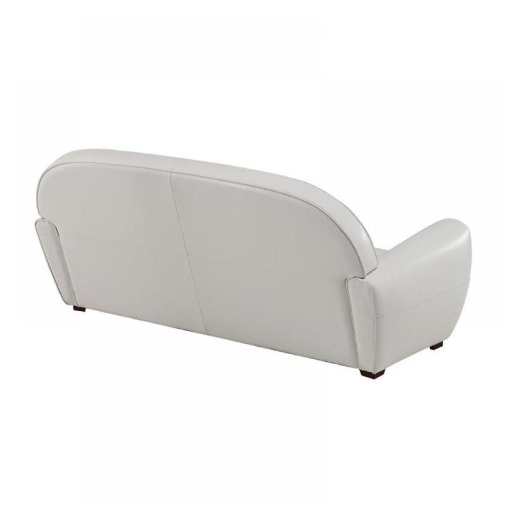 Rapido convertibles canap s syst me rapido canap club blanc 3 places en cuir recycl made in - Canape club en cuir ...