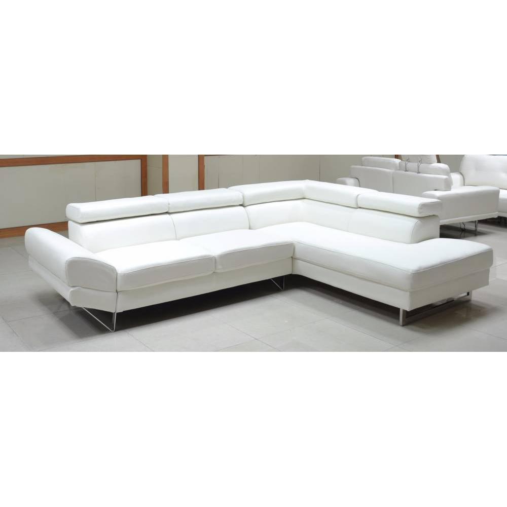 canap s d 39 angle canap s et convertibles canap d 39 angle droite fixe venise cuir co blanc. Black Bedroom Furniture Sets. Home Design Ideas