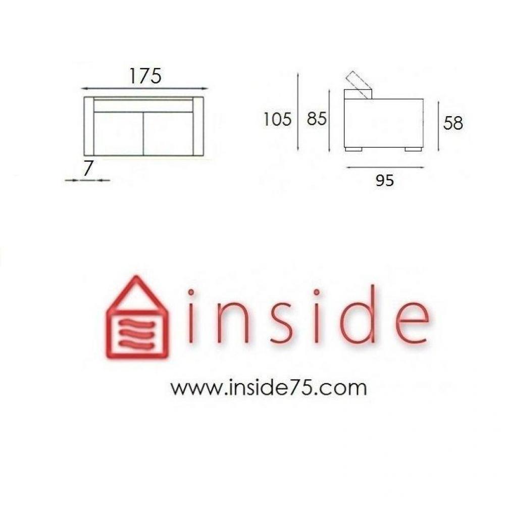 canap s fixes canap s et convertibles canap fixe paris inside75. Black Bedroom Furniture Sets. Home Design Ideas