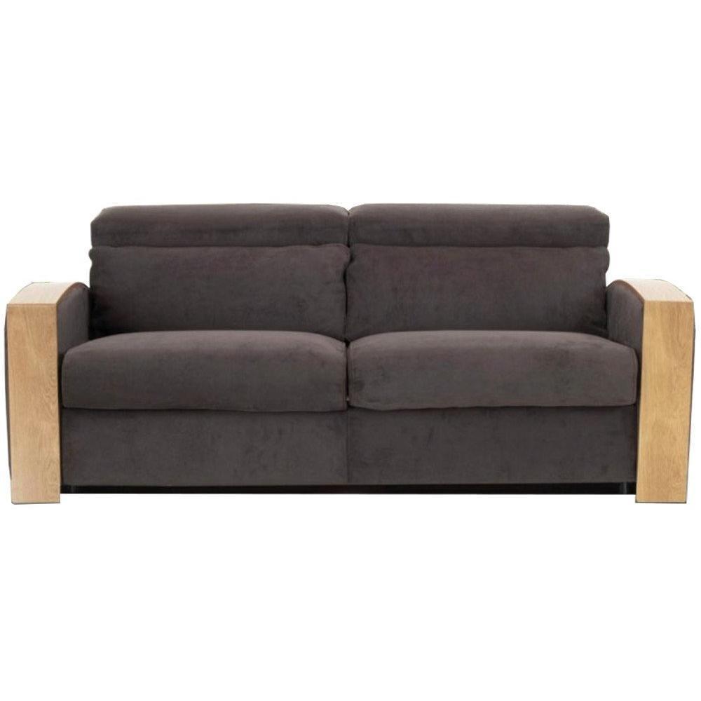canap s fixes canap s et convertibles canap fixe pontiac accoudoirs en bois 2 places inside75. Black Bedroom Furniture Sets. Home Design Ideas