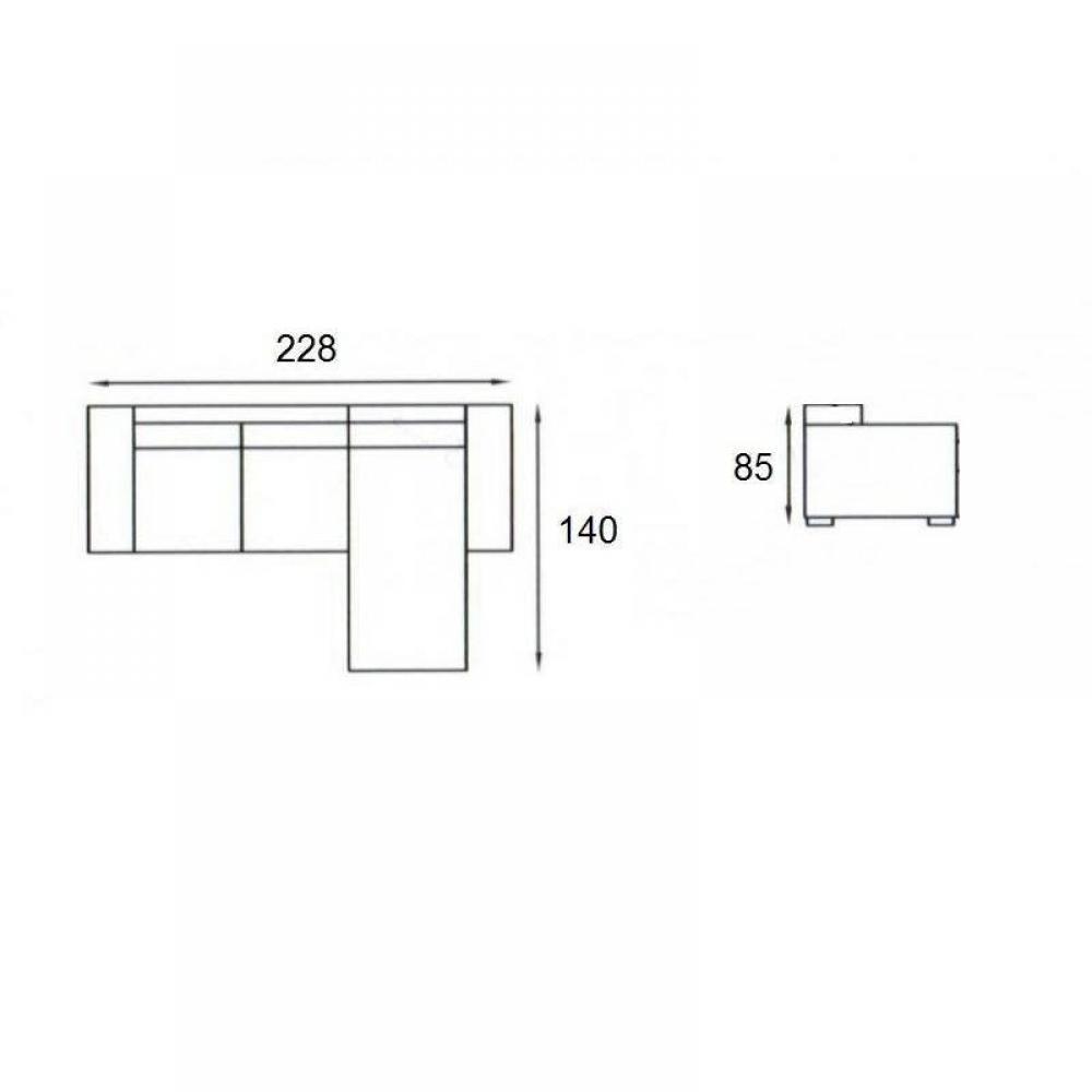 Canap d 39 angle gigogne convertible express carlow noir et blanc avec pi t - Lit gigogne definition ...
