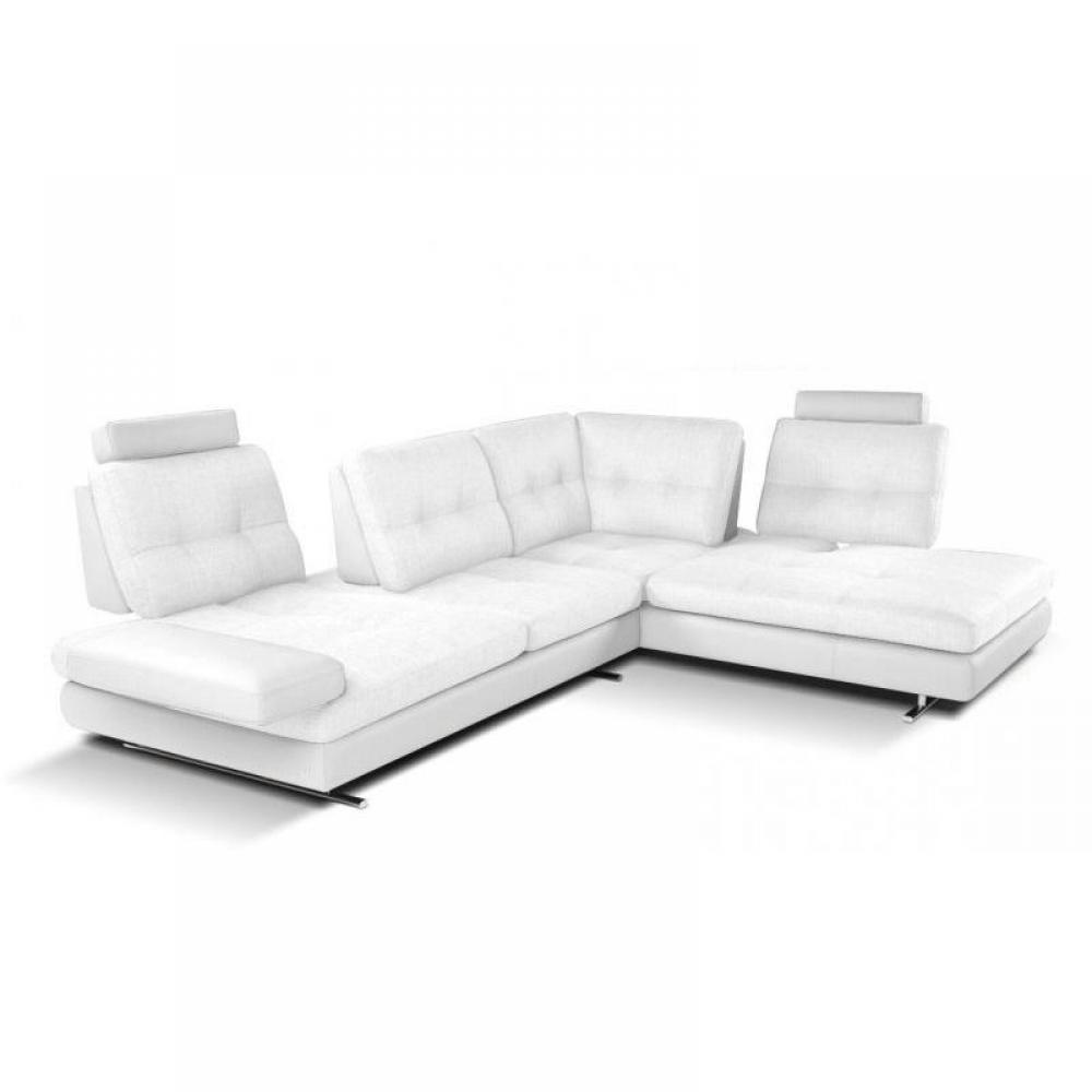 Canap s fixes et fauteuils canap d 39 angle haut de gamme italien extens - Canape cuir italien haut gamme ...