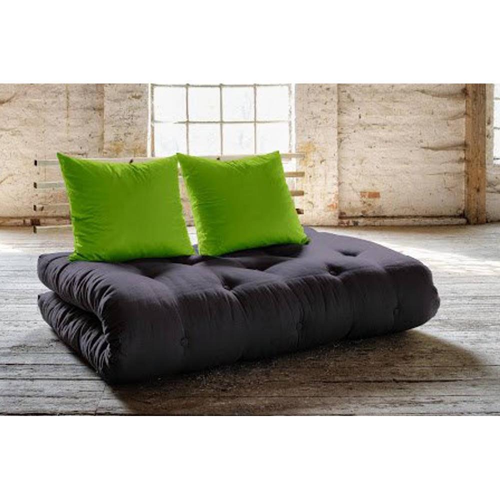 canap s convertibles canap s et convertibles canap lit en pin shin sano futon grey graphite. Black Bedroom Furniture Sets. Home Design Ideas