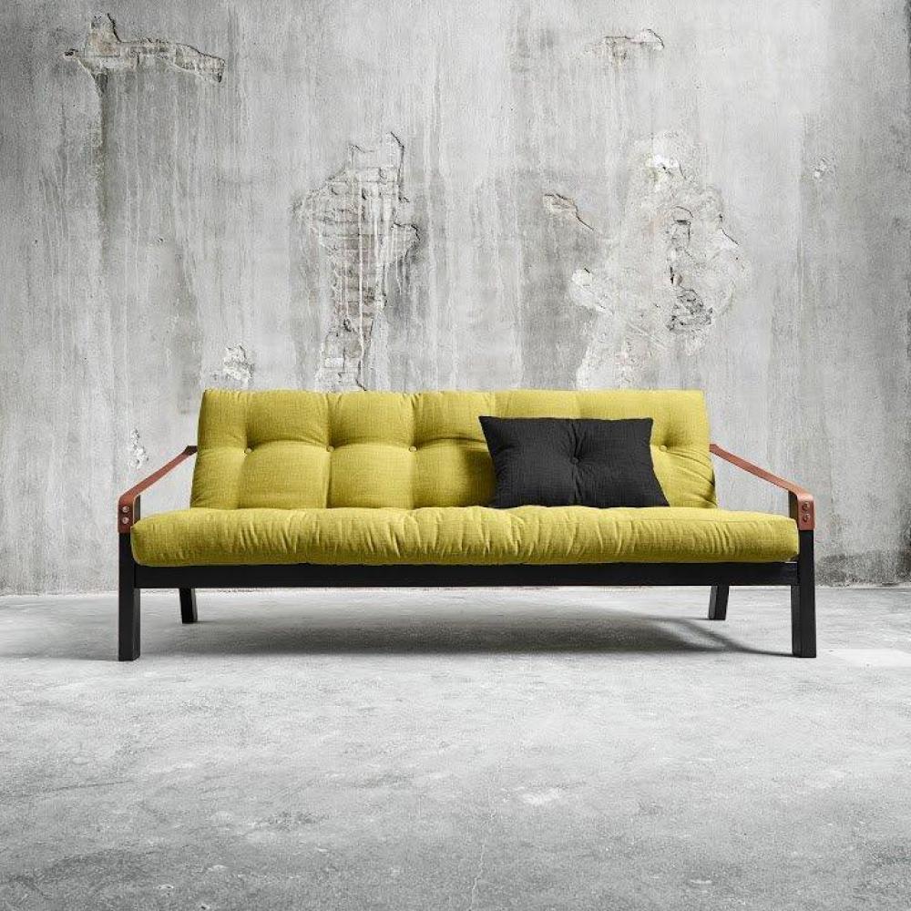 canap s futon canap s et convertibles canap noir 3 4 places convertible poetry futon avocat. Black Bedroom Furniture Sets. Home Design Ideas